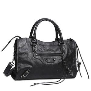 مصمم - حقائب النساء دراجة نارية خمر حقيبة جلدية ترصيع برشام محفظة المرأة أكياس سلسلة