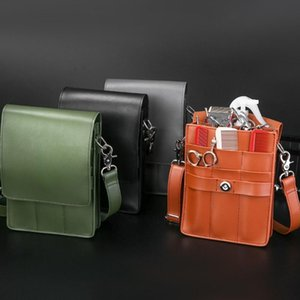 Pet Scissors Storage Bag Hair Styling Equipment Belt Bag Haircut Holster Messenger for Scissors Clip Hair Combs