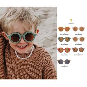 Cute New INS Kids Baby Sunglasses girls boys Kids Sun Glasses Candy Color Cat Eye Sunglasses Children Shades For Children UV400