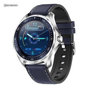 SENBONO Sport IP68 Waterproof Men Clock Smart Watch Bluetooth 5.0 Women Fitness Tracker 2020 Smartwatch for IOS Android Y1117