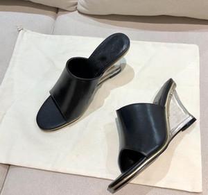 Yeni sıcak satış kadın yüksek topuk sandalet moda ilkbahar ve sonbahar kadın ayakkabı ithal deri kumaş