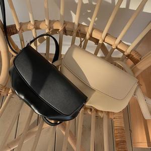 2020 Nuevas bolsas de gama alta con textura de sabor extranjero bolsas de mujer INS Super Popular Small Design Flip Bag