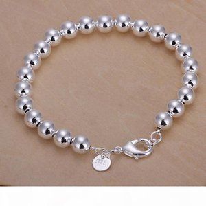 K Flash Twisted Rope Sand Pearl Box Aberdeen Sterling Silver Bracelet 8 Pieces Mixed Style Gtb31 Hot Sale Women &#039 ;S 925 Silver Bra