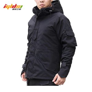 G8 Tactical Jacket Men Winter Camouflage thermal thick parka Coat Hooded 2in1 Jacket outwear Waterproof Windbreaker 3XL