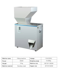 50-2000g semi automatic table top intelligent particle powder weighing filling machine