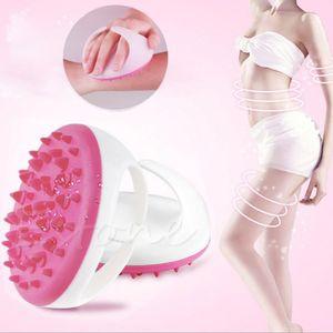 OOTDTY Handheld Bath Shower Anti Cellulite Full Body Massage Brush Slimming Beauty Z07 Drop Shipping Y1126