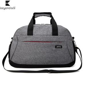 Outdoor Sports Bag For Fitness Women Gym Handbag Men Travel Lage Bags Nylon Waterproof Training Sportbag Large Capacity 3098 201023