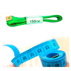 Useful Body Measuring Ruler Sewing Tailor Tape Measure Soft 1.5m Sewing Ruler Meter Sewing Measuring wmtthC toys2010