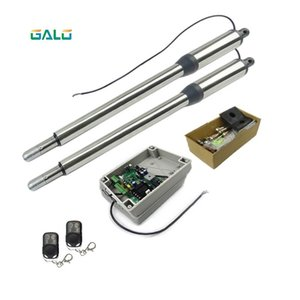 galo AC DC 24V Input Voltage Electric Linear Actuator 300kgs Engine Motor System Automatic Swing Gate Opener remote control kit