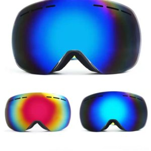 HU8BE Nice Designer Skiing Goggle Snowboard Snowmobile FOG Ski Aire Libre Anti Patinaje Gafas de Alta Calidad Gafas reflectantes UV