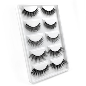 Best selling wholesale price G605 high quality 3D mink hair false eyelashes with packaging box free shipping