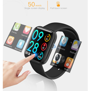 Bluetooth 4.0 P80 Smart Watch Women Heart Rate Monitor Fitness Tracker Blood Pressure Smartwatch Magnetic interface USB Charging