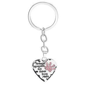 12 шт. / Лот цепочка ключей больше не на моей стороне, но навсегда в моем сердце Paw Pak Print Beed Beychain Pet Lookers Moving Memorial Friend Key Ring 632 K2