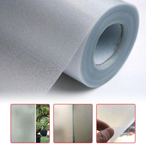 200 100cm Home Office Bedroom Bathroom Window Glass Waterproof Frosted Film Sticker PVC Frosted Privacy Frost Sticker