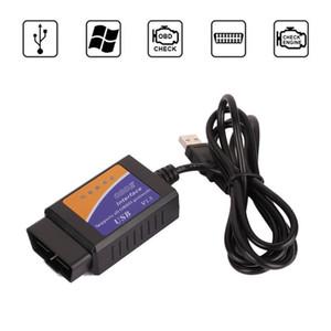 Sıcak Satış Elm327 USB Tarayıcı Teşhis Aracı ELM327 OBD2 Desteği Çoğu OBDII Protokolleri ELM327 USB OBD Kod Okuyucular Tarama Araçları Arayüzü
