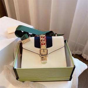 2021 Classic Luxury Designer Sylvia Navy Mujeres Moda Bolsas de hombro con arco Diamond Lattice Hombro Vintage Alta Calidad Bolsas de colgajo barato