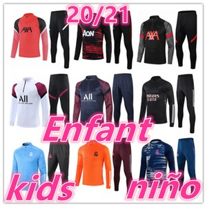 2020 2021 جديد أطفال ريال مدريد اياكس دعوى التدريب رياضية كرة القدم الفانيلة مجموعات 20 21 تدريب كرة القدم كرة القدم رياضية الركض سترة كيت