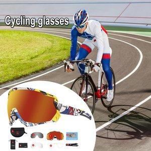 Goggles MTB Bici Bici Glasses Eyewear Sport Sport Bicicleta Cilismo Quaerstes Cycling Sunglasses Occhiali da sole Uomini