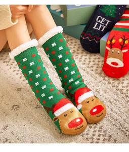 slipper socks Sherpa Lined Cozy Colorful winter Thermal Fuzzy Slipper Fluflly Socks warm House Soft Slippers