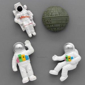 Холодильник Магнитные подарки Магниты 3D Pilot Space Star Наклейки Холодильник Астронавт Коллекция Модель Мультфильмов персонажей FNXH8478