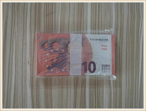 Euros Fake Money Banknotes Prop Money Paper 10 Euro Bills Prices Bank Note Business Gifts for Men Fake Paper Money for Collection855
