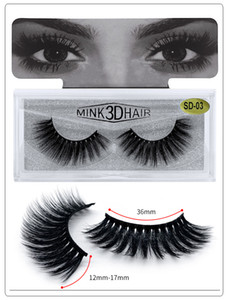 NEW Mink False Eyelashes 3D Mink Eyelashes Fashion 25mm Natural Long 100% Real Mink Lashes High Volume Fluffy Eyelash Makeup Tool Wholesale