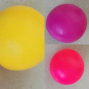 Bolas de lanzamiento en el techo Squash Ball Vacuum Succión descompresión Sticky gol Bal Childrentoys Hatv