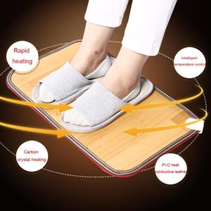 ST03,Winter Foot Feet Warmer lectric Heating Mat Office Warm Feet Thermostat Heating Pad Home Heated Floor Carpet