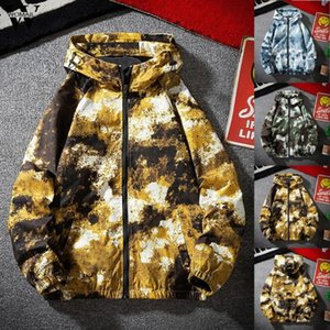 Womail Jacket Men 2020 Autumn Winter fashion Camouflage Zipper style Hoodie jacket Casual Pocket Loose Sport coats