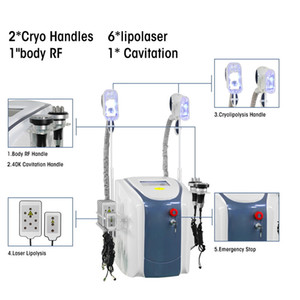 40 Body Cavitation Body RF Lipo Laser Beauty Equipment grasso congelamento 6 in 1 Skin Stringing Beauty Slimming Machine