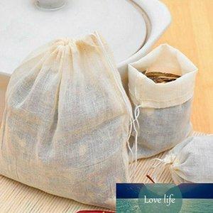 10 القطن الشاش الرباط توتر الشاي الطبخ منفصلة حقيبة فلتر الغذاء الغذاء