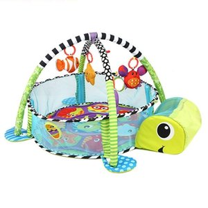 Tortoise Baby Play Mat 0-1 Year Game Tapete Infantil Educational Crawling Mat Play Gym Cartoon Blanket Ball Pit Toys Play Mat Z1123