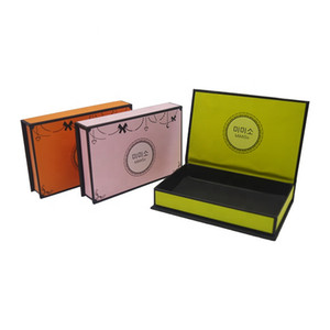 Custom Printed High Quality Colorful Cosmetic Packaging Gift Boxes With Your Own Logo Eyelash paper box custom