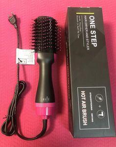 Bir adım saç kurutma makinesi ve şekillendirici, saç kurutma makinesi fırçası, 3 1 hava fırçası - negatif iyon saç kurutma makinesi, düzleştirici ve kıvırıcı Hotsale