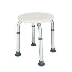 Cadeira de chuveiro de banho médica anti-deslizamento de banho redondo assento de fezes para idosos