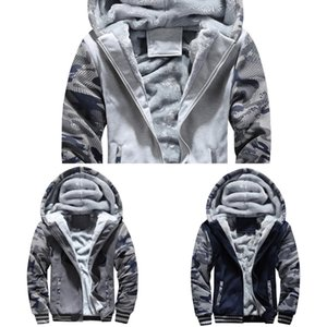 BOLUBAO Winter New Men Casual Hoodies Men's Thick Warm Hooded Sweatshirts Brand Clothing Camouflage Hoodie Sweatshirt Male Z1211