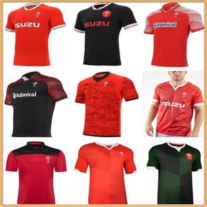 2020 웨일즈 스코틀랜드 럭비 유니폼 2021 홈 멀리 웨일스 어 통로 스코틀랜드 셔츠 크기 S-5XL