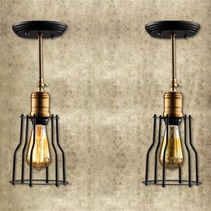 Creative personality retro iron cover wall lamp American Village Paint Cloak Universal Head wall Light for restaurant Warehouse
