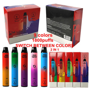 100%Authentic V MAX Disposable Vape Pen 1800puffs 5.8ml Oil Carts 900mah Battery Pre filled VMAX Device Pods Empty Disposable Vapes