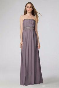 2019 NEW Kyle Chiffon Bridesmaid Dress with Beading W2426MDB Wedding Party Dress Evening Dress Formal Dresses