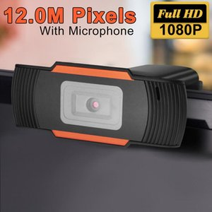 USB Webcam HD 720p 1080p Video Recording Camera Rotatable Live Web Camera For Youtube Video Conference Computer With Mic Web Cam