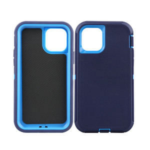 Armor Defender Case PC TPU Cover Protective Shell for iphone12 Mini 11 Pro Max 8Plus 7 Dual Layer Anti-Shock Hybrid Case