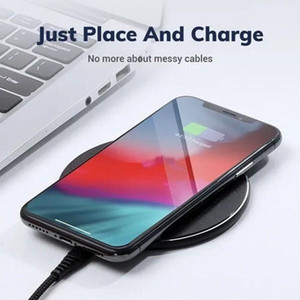 TOPK 10W Wireless Charger For iPhone 11 Pro XS Max XR X 8 Plus USB Qi Charging Pad for Samsung S10 S9 S8 S7 Edge Note 10 FY7506