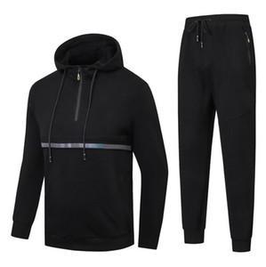 Nueva moda para hombre ropa deportiva masculina sudadera casual hombre Hiphop Sports traje hombres ocio al aire libre chándal chándal