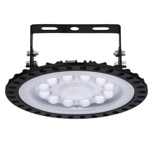 50W Ultrathin 3rd Generation LED UFO High Bay Light Industry Light Hall Lamp Lampada da ammortizzatore Lampade da soffitto Laboratorio