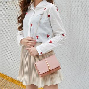Sweet Female Shoulder Bags PU Leather Fashion Bags Women Soft Mini Designer Bags for Women Plain Color Tassel Woman Crossbody Bag