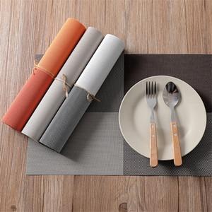 Éclairage écologique PVC Western STYLES-Style Western Isolant Table de table Tapis Tapis Tapis Sécher rapidement Multicolore C1210