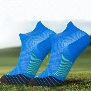 2020 New Anti-sweat Unisex Sport Socks Adult Elite Short Tube Breathable Socks Outdoor Running Basketball Football Sports Socks