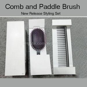 Dropship Cepillo de cabello Professional Styling Set Diseñado Dimangling Pein Peine Paddle Cepillo rápido Envío gratis
