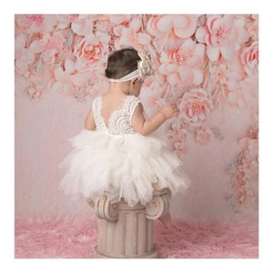 1-5y Princess Girls Dress Toddler Kid Girls Lace Party Wedding Birthday Tutu Dresses For Girls Childr jllUKp